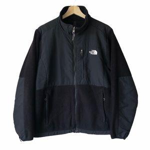 The North Face Black Denali Fleece Jacket L Large